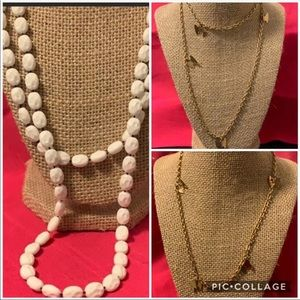 Collection Of 3 Sarah Coventry Necklaces
